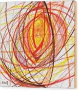 2007 Abstract Drawing 8 Wood Print