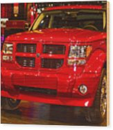 2007 Dodge Nitro Wood Print