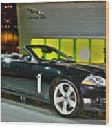 2007 Jaguar Xkr Convertible R No 1 Wood Print