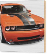 2008 Dodge Challenger Srt Muscle Car Wood Print