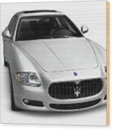 2009 Maserati Quattroporte S Wood Print