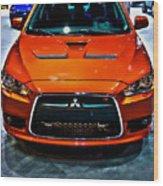 2009 Mitsubishi Lancer Wood Print