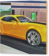 2010 Chevrolet Camaro Wood Print