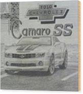 2010 Chevrolet Camaro Ss  Wood Print