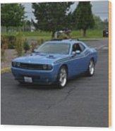 2010 Dodge Challenger Amilowski Wood Print