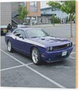 2010 Dodge Challenger Rt Lyster Wood Print