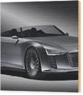 2011 Audi Etron Spyder Wood Print