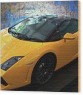 2011 Lamborghini Gallardo Lp560-4 Bicolore 2 Wood Print
