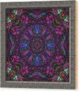 20110413-castlewindow-uk25-k12-v04 Wood Print