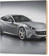 2012 Ferrari Ff 3 Wood Print