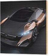2012 Peugeot Onyx Concept Wood Print