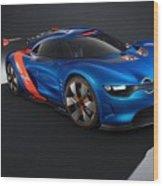 2012 Renault Alpine A110 50  Wood Print
