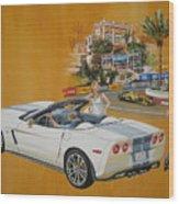 2013 Chevrolet Corvette Wood Print