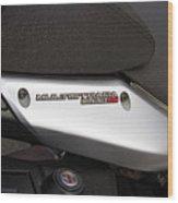 2013 Ducati Wood Print
