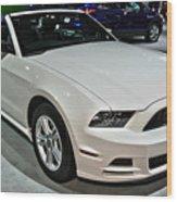 2013 Ford Mustang No 1 Wood Print