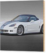 2014 Corvette Zo6 Convertible Wood Print
