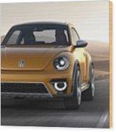 2014 Volkswagen Beetle Dune Concept Wood Print