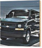 2015 Chevrolet Express Van Wood Print