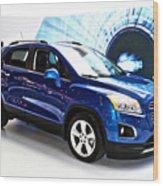2015 Chevrolet Trax Number 1 Wood Print