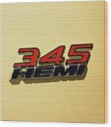 2015 Dodge Challenger Wood Print
