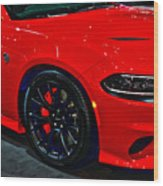 2015 Dodge Charger Srt Hellcat Wood Print