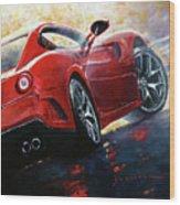 2015 Ferrari 599 Gtb Fiorano Wood Print