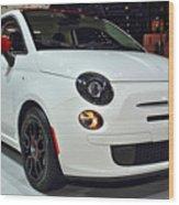 2015 Fiat 500 Ribelle Wood Print