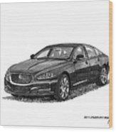2015 Jaguar X J L Wood Print