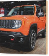 2015 Jeep Renegade Trailhawk Number 3 Wood Print