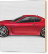 2015 Maserati Granturismo Mc Centennial Edition Luxury Car Side  Wood Print