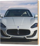 2015 Maserati Granturismo Wood Print