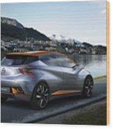 2015 Nissan Sway Concept 3  1 Wood Print