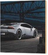 2015 Novitec Torado Lamborghini Huracan 3  1 Wood Print