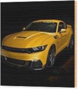 2015 Saleen Mustang S302 Black Label  Wood Print