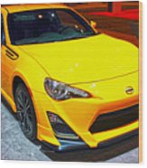 2015 Scion Fr-s Number 2 Wood Print