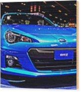 2015 Subaru Brz Wood Print