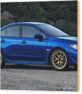 2015 Subaru Wrx Sti Wood Print