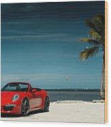 2015 Vorsteiner Porsche 911 Carrera 4s Vff 104 2 Wood Print