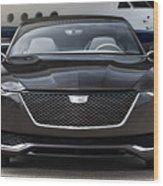 2016 Cadillac Escala Concept 3 Wood Print