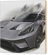 2016 Ford Gt  No 2 Wood Print