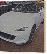 2016 Mazda Mx-5 Wood Print