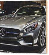 2016 Mercedes-amg Gts Wood Print