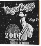 2016 World Tour Wood Print