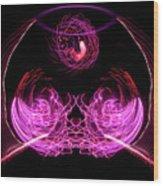 201606040-039b Bowl Of Fireworks 4x5 Wood Print