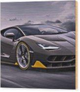 2017 Lamborghini Centenario Wood Print
