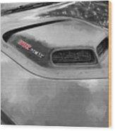 2018 Dodge Challenger 392 Hemi Scat Pack Shaker Rt 005 Wood Print