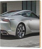2018 Lexus Lc 500h 4k 3 Wood Print