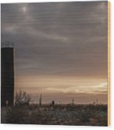 2018_02_pecos Tx_ Oil And Gas Artwork Wood Print