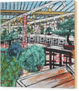 201804 Bonsai And Penjing Museum Washington Wood Print