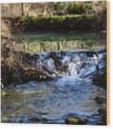 2018_2_12  Mountian Stream-4218 Wood Print